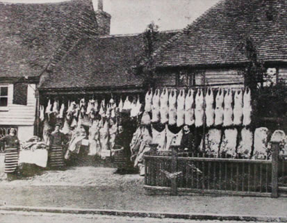 Butcher in Seal in the 19th century